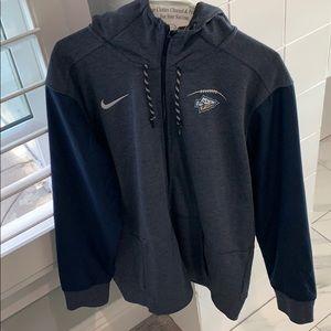 Men's St. John Bosco zip-up hoodie
